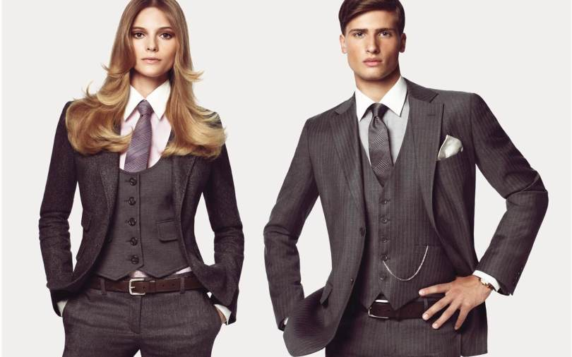 Мужской стиль в одежде у женщин