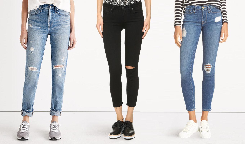 На лабутенах и в оф…х штанах или джинсы must have любого гардероба. Подбираем образ.