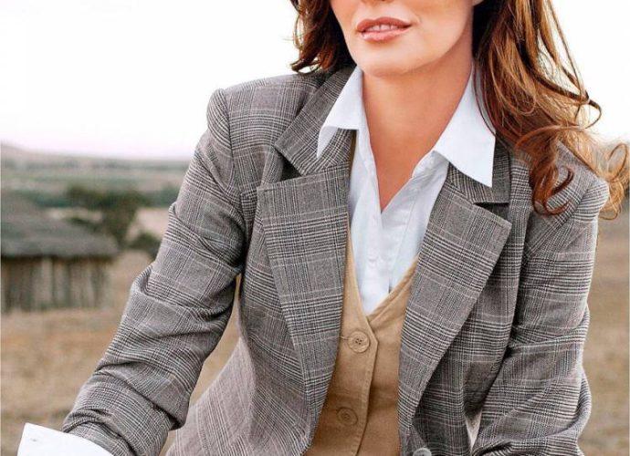 Пиджак — сочетание с элементами гардероба