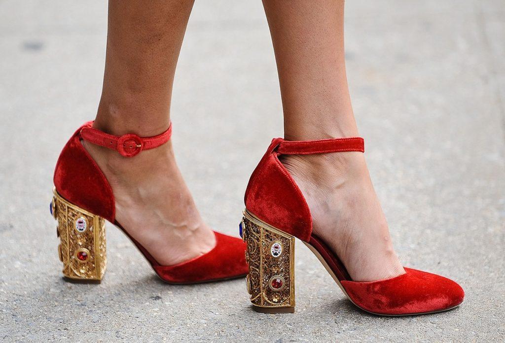 характер женщины +по обуви
