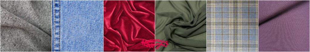 Цветотип Холодное Лето - ткани